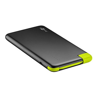 digibuddy Powerbank (externer Hochleistungsakku) für fast jedes Handy und alle anderen Gerätedie über ein USB-Kabel geladen werden können, 6600mAh